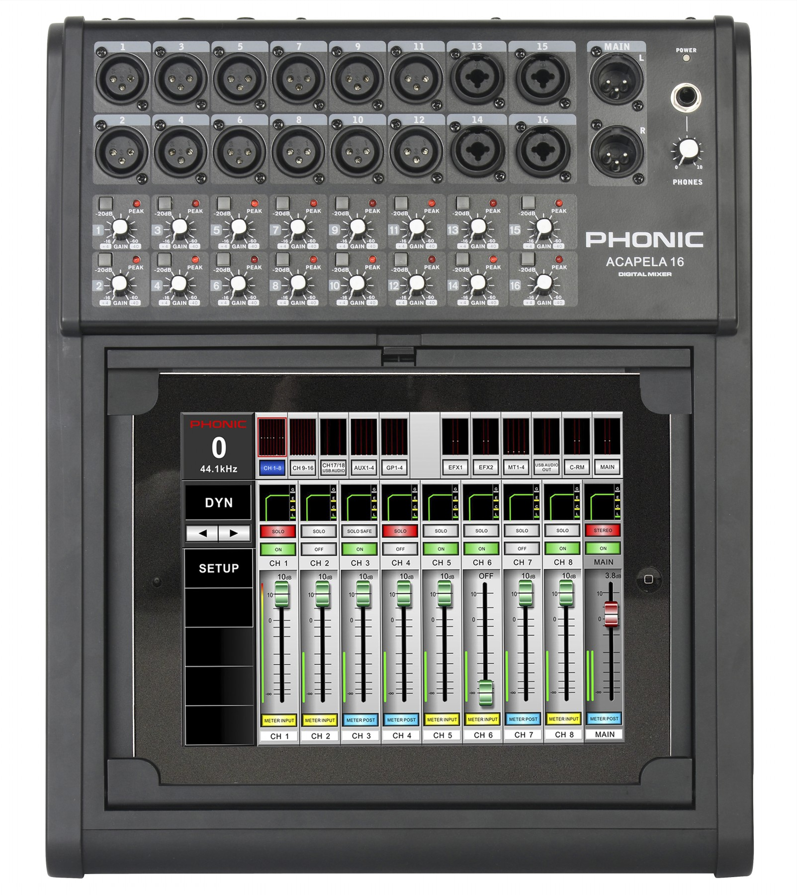 phonic acapela 16数字调音台